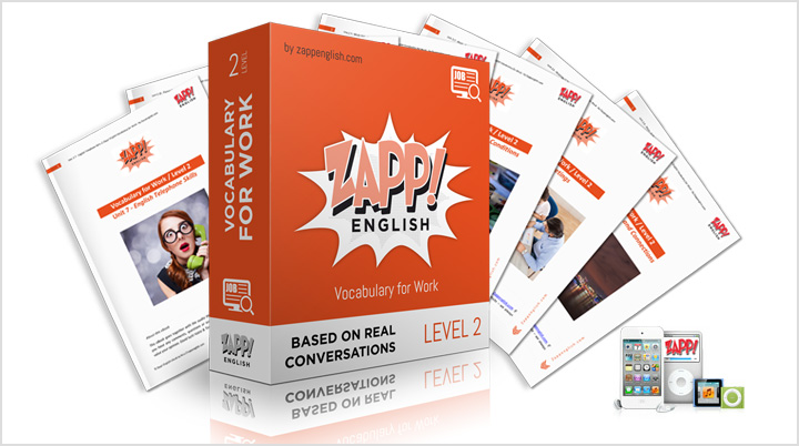 Zapp! English Vocabulary for Work Intermediate - Download Audio and eBooks