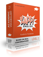 Zapp! English Academic Vocabulary / Intermediate